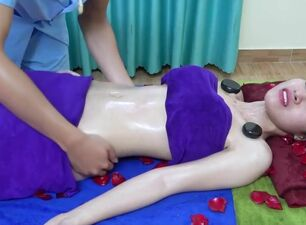 Exotic asian massage