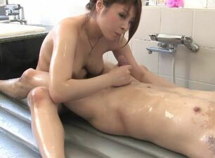 Sensual asian massage