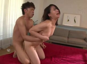 Asian fucked from behind
