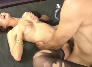 Asian triple penetration