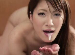 Asian oral creampie compilation