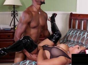 Asian girl fuck big black cock